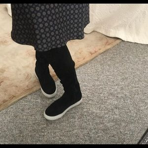 Jslides over the knee sneakers